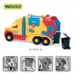 Zabawka Super Truck krótki śmieciarka /Wader/