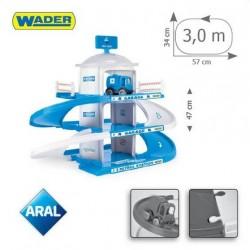 Zabawka garaż 3-poziomowy Aral /Wader/