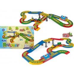 Zabawka kolejka z mostem Kid Cars /Wader/