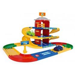 Zabawka parking 3-poziomowy Kid Cars /Wader/