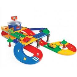 Zabawka Kid Car 3D garaż z trasą 5,5m. /Wader/