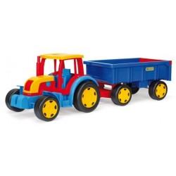 Zabawka Gigant traktor z przyczepą /Wader/