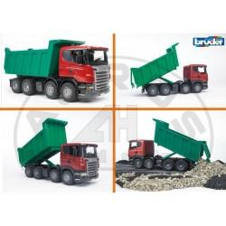 Zabawka samochód wywrotka Scania