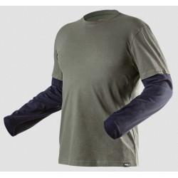 Koszulka z długim rękawem CAMO olive M NEO