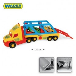 Zabawka Super Truck z autkami /Wader/