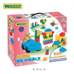 Zabawka klocki Mini Blocks 130-el /Wader/