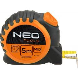 Miara zwijana 8m. 25mm. stalowa magnes Neo