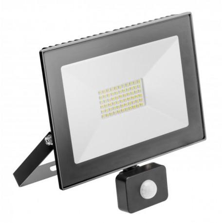 Naświetlacz LED 50W biała zimna z czujnikiem ruchu