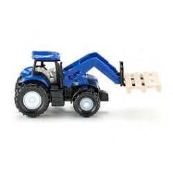 Zabawka traktor New Holland z ładowacz. /Siku/