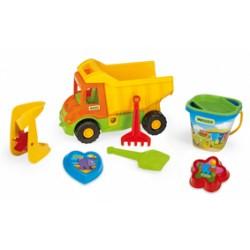 Zabawka Multi Truck wywrotka+kpl.do piasku /Wader/