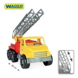Zabawka City Truck ciężarówka z drabiną /Wader/