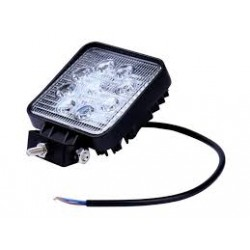 Lampa robocza LED 9-32V 27W 2200lm kwadratowa