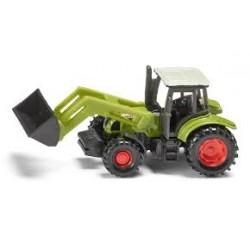 Zabawka traktor Claas Ares z ładowacz. /Siku/