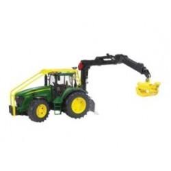 Zabawka traktor leśny John Deere 7930