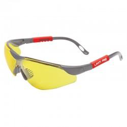 Okulary ochronne żółte regulowane Lahti