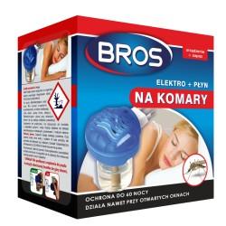 Elektrofumigator + płyn na komary Bros