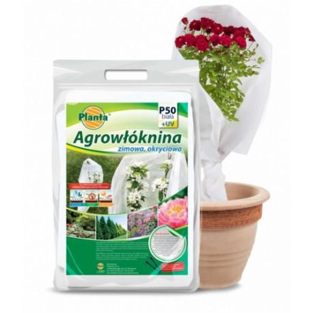 Agrowłóknina biała P50 1,6*5m. Planta