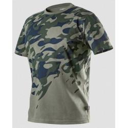 Koszulka t-shirt CAMO z nadrukiem S NEO