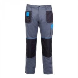 Spodnie robocze szaro-niebieskie M Lahti
