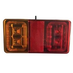 Lampa tylna zespolona LED 12/24V prostokąt 150*80
