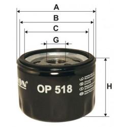 Filtr oleju OP 518