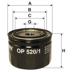 Filtr oleju OP 520/1