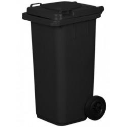 Pojemnik plastikowy na śmieci 240l. czarny