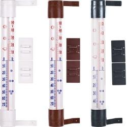 Termometr przyklejany zaokienny 26/230mm. średni