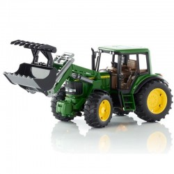 Zabawka traktor John Deere 6920 z ładowaczem