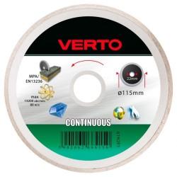 Tarcza diamentowa 115*22,2mm. pełna Verto