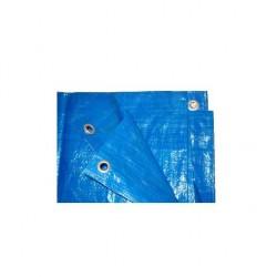 Plandeka 6*10m. niebieska