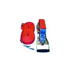 Pas transportowy 5T 12m. 50mm. kpl. czerwony