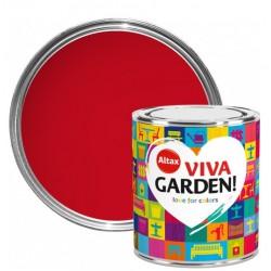 Emalia 0,25l. Viva Garden czerwone piwonie Altax