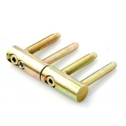 Zawias drzwiowy wkręcany regulowany fi 14mm.