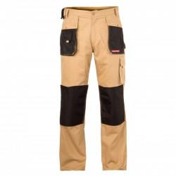 Spodnie robocze beżowe 3XL Lahti