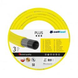 """Wąż ogrodniczy 1/2"""" żółty Plus Cellfast"""