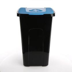 Kosz do segregacji śmieci 50l. niebieski Sorta