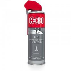 Olej do gwintowania i wiercenia 500ml.spray  CX-80