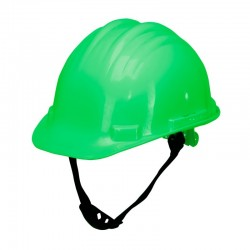 Kask ochronny przemysłowy zielony