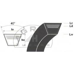 Pas klinowy C5715 /Agro Belt/