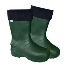 Kalosz EVA niski ocieplony zielony rozmiar 38