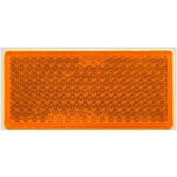 Odblask prostokątny pomarańczowy