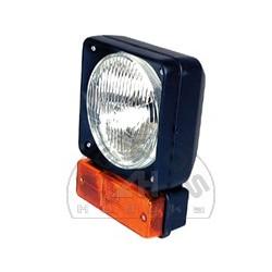 Reflektor z kierunkowskazem kwadratowym - lw/pr