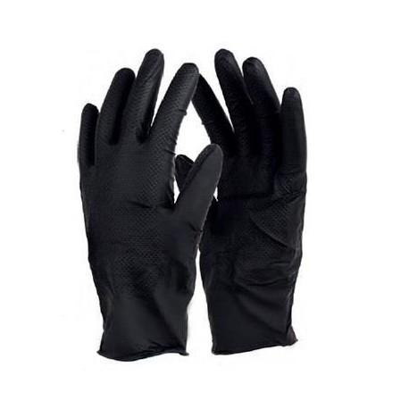 Rękawice ochronne czarne 8-M op-5par