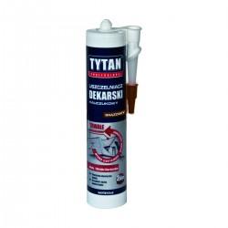 Uszczelniacz dekarski 310ml. brąz Tytan