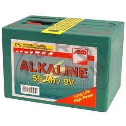 Bateria 9V 55Ah do elektroz.mała aklaiczna