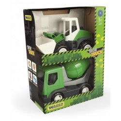 Zabawka pojazd TECH TRUCK GREEN 2szt XXX