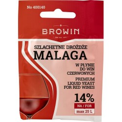 Drożdże winiarskie do czerwonych malaga