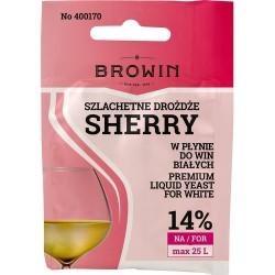 Drożdże winiarskie do białych SHERRY 20 ml