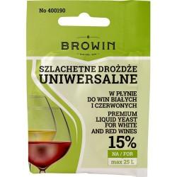 Drożdże winiarskie uniwersalne 20ml